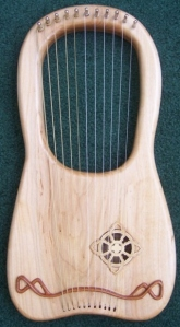 Celtic Knot Lyre