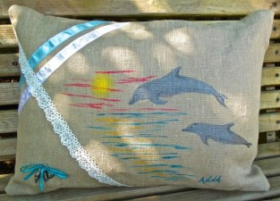 Dolphin Pillow