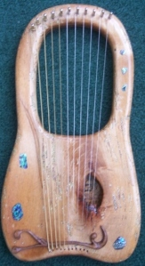 Wormy Maple Lyre